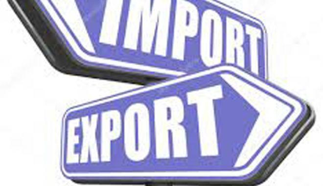 Foto: Balanța schimburilor comerciale  se înclină în favoarea importurilor