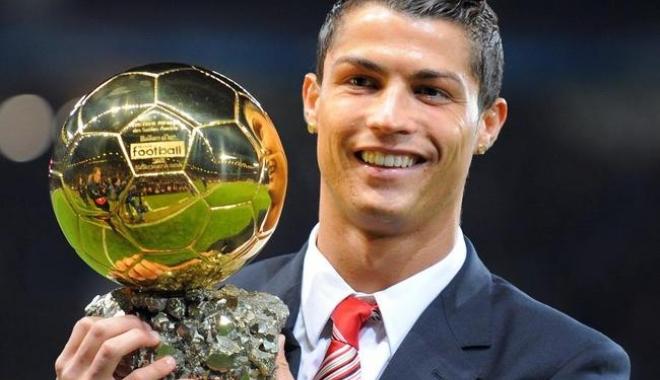Foto: Cristiano Ronaldo a câştigat Balonul de Aur. Clasamentul complet
