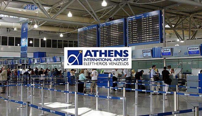 Foto: Româncă arestată pe aeroportul din Atena! Sute de pașapoarte, asupra sa