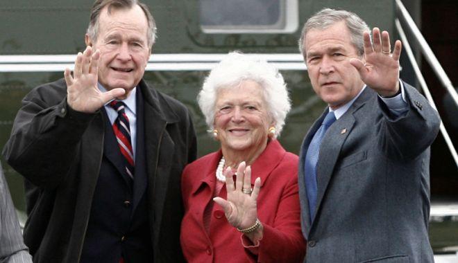 Foto: A murit Barbara Bush, soție  și mamă de președinți ai SUA