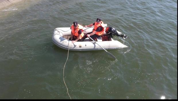 Foto: Bărbat înecat, după ce a încercat să traverseze apele