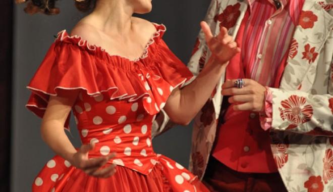 """Foto: """"B�rbierul  din Sevilla"""",  pe scena Teatrului """"Danovski"""""""