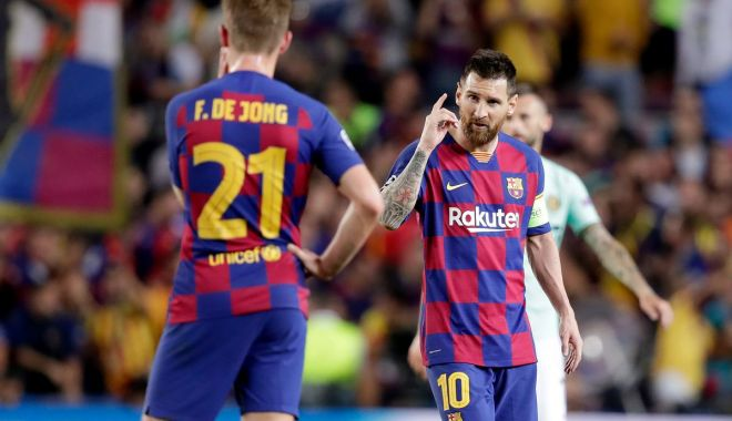Gest superb făcut de jucătorii Barcelonei pentru revenirea lui Neymar - barcelonaneymar-1572517947.jpg