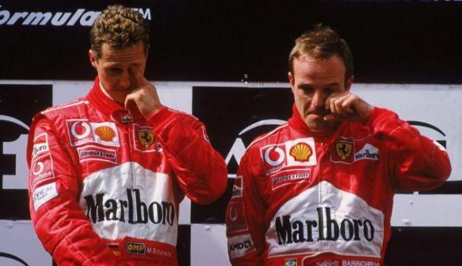 Foto: Rubens Barrichello, veşti triste despre vizita la Michael Schumacher