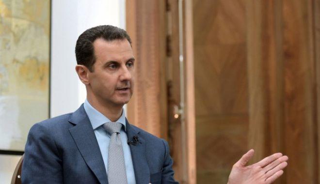 Foto: Prima declarație a lui Bashar al-Assad după atacul din Siria