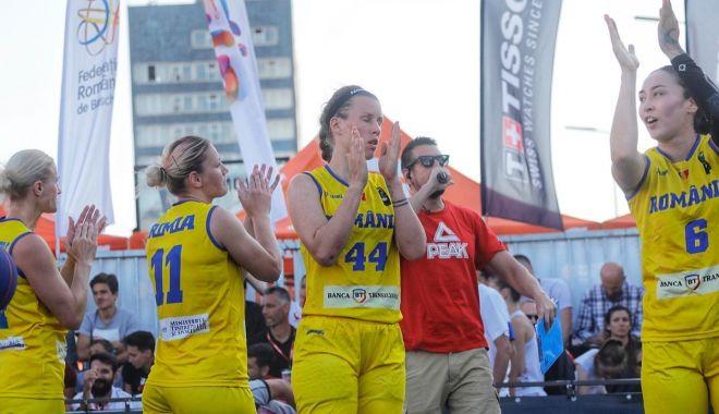 Foto: Baschetbalistele tricolore, calificate la FIBA 3x3 Europe Cup!