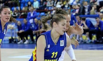 Foto: Baschet feminin: România va juca primul meci de la Eurobasket 2015 cu Muntenegru