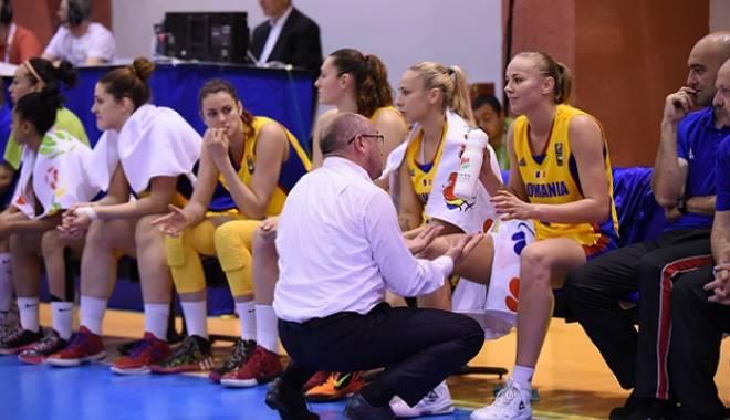 Foto: Baschet feminin: România a fost învinsă de Franţa la Eurobasket 2015
