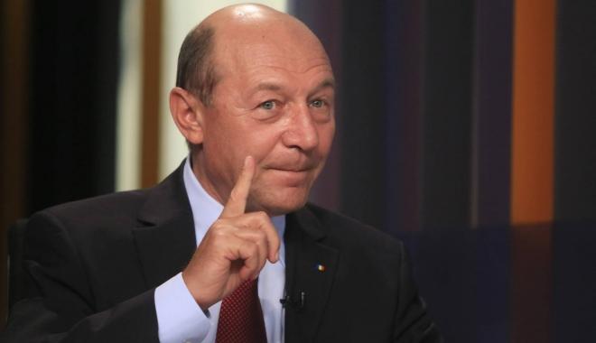 """Foto: Băsescu, despre anticipate: """"Mă tem că ar câștiga tot PSD"""""""