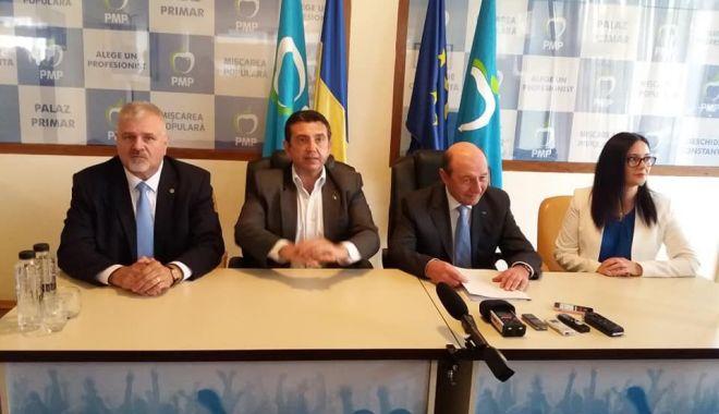 Foto: Traian Băsescu: PMP nu va fi de acord cu transformarea UE într-o uriaşă moschee