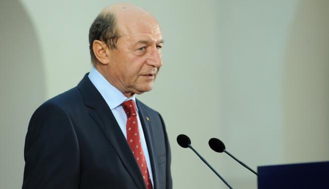 """Foto: Traian Băsescu: """"Nu vreţi s-o lăsaţi mai încet cu Ghiţă care câştigă tot în lumea asta"""""""