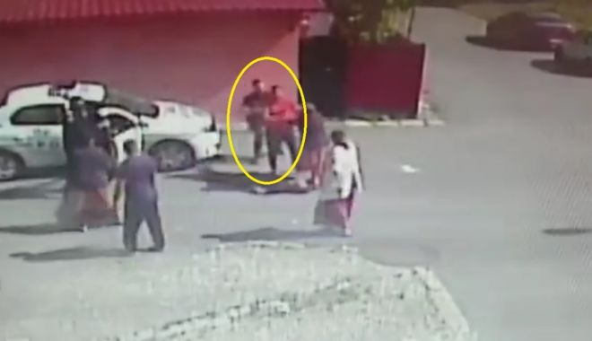 Foto: VIDEO / Bătăuș pus la pământ dintr-o singură mișcare de un polițist, la Constanța