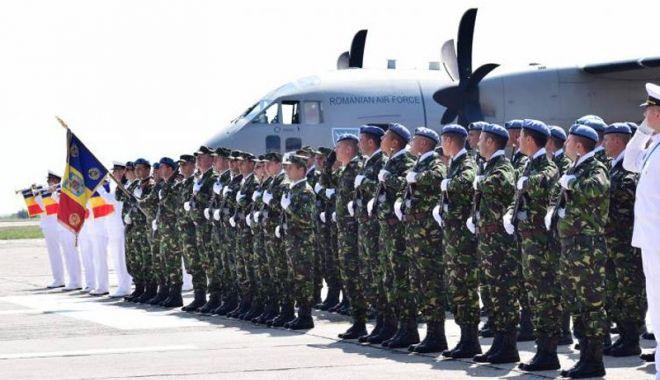 Foto: Baza aeriană de la Mihail Kogălniceanu, extinsă de americani