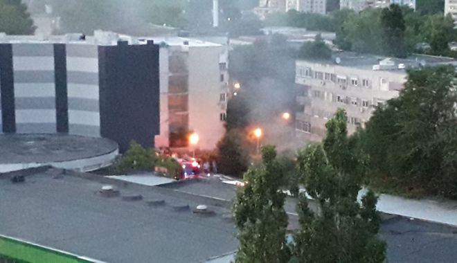 VIDEO / Incendiu de proporții în zona Brotăcei. Intervin mai multe echipaje de la ISU Dobrogea