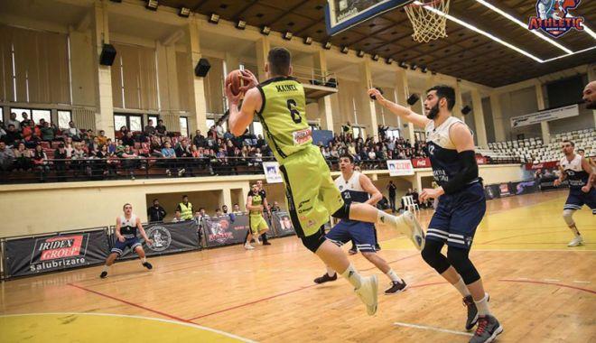Foto: BC Athletic a pierdut confruntarea  de la Brăila
