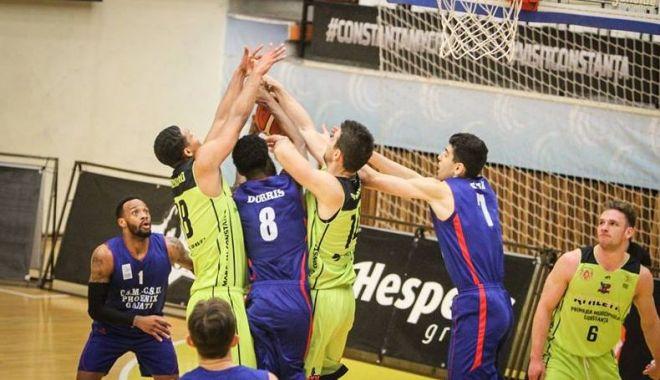 Foto: BC Athletic Constanţa primeşte vizita vicecampioanei României