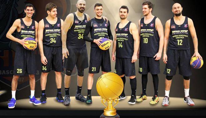 Foto: BC Athletic Constanţa a câştigat Cupa României la baschet 3x3