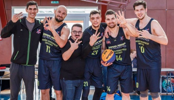 Foto: BC Athletic, cap de serie la ultimele turnee ale Cupei României de baschet 3x3