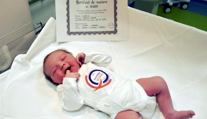 """Foto: Spitalul """"Euromaterna"""" a ajuns la cea de-a 10.000-a naştere"""