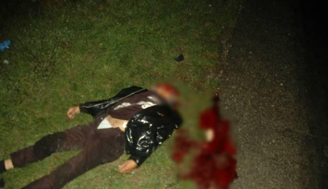 Foto: Imagini ŞOCANTE! Tragedie în drum spre Năvodari! A murit pe loc