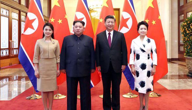 """Foto: Beijingul vrea să joace un """"rol constructiv"""" în denuclearizarea Phenianului"""