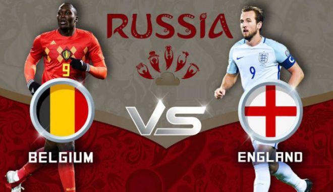 Foto: CM 2018, finala mică. Belgia vs Anglia, de la ora 17:00. Bătălia pentru medaliile de bronz