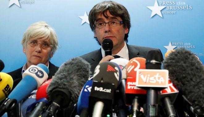 Foto: Belgia a primit un nou mandat de arestare european pe numele lui Carles Puigdemont