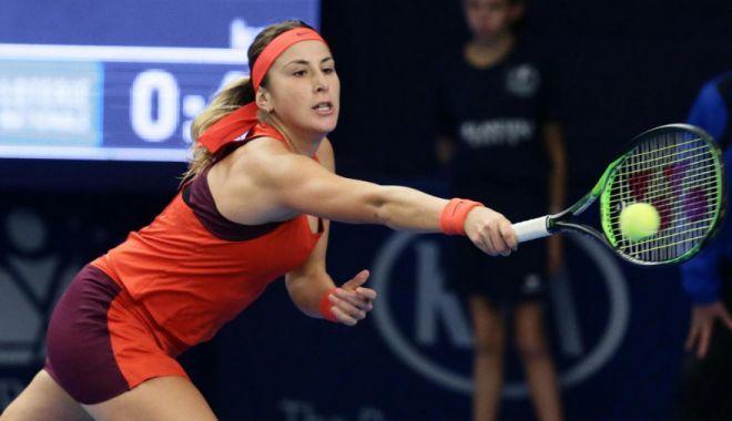 Foto: Tenis, WTA Madrid: Belinda Bencic o învinge pe Naomi Osaka și va fi adversara Simonei Halep în semifinale