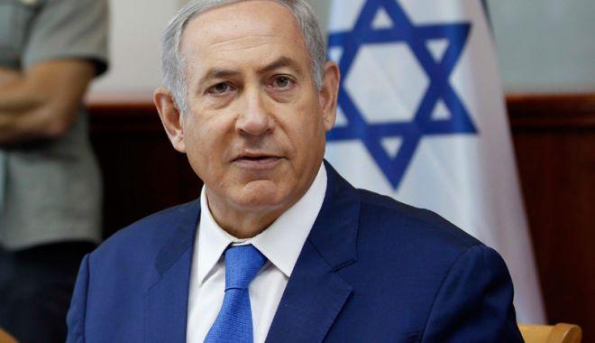 Foto: Benjamin Netanyahu: Israelul acționează constant pentru  a limita înarmarea dușmanilor săi