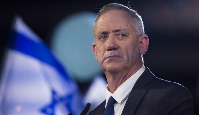 Foto: Alegeri în Israel: Benny Gantz, adversarul lui Netanyahu, își recunoaște înfrângerea