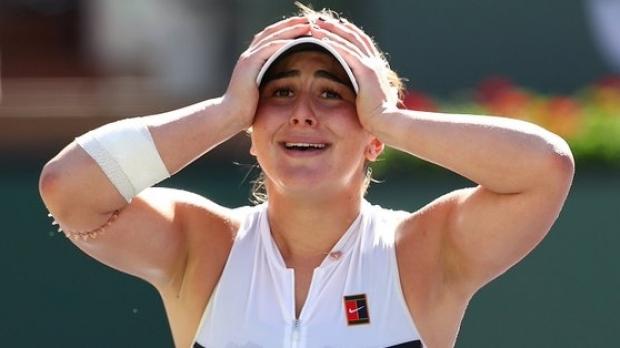 Foto: Bianca Andreescu, mesaj pentru români, după finala câştigată la Indian Wells