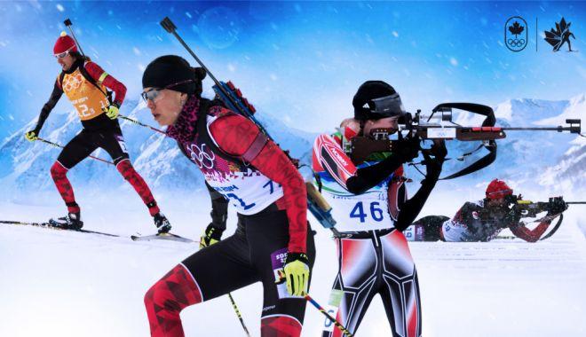 Foto: România, locul 14 la biatlon. Suedia, campioană olimpică