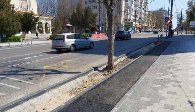 Foto: Noi piste pentru bicicliști, la Constanța