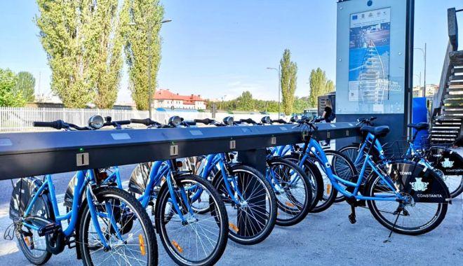 Foto: Biciclete noi, la dispoziția constănțenilor dornici de mișcare