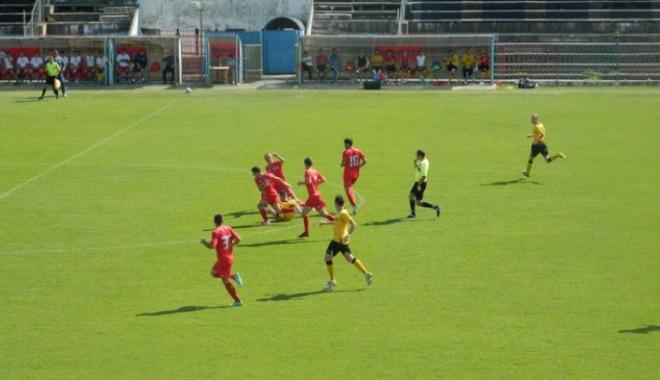 Foto: Fotbalist de 23 de ani, stop cardio-respirator în timpul meciului