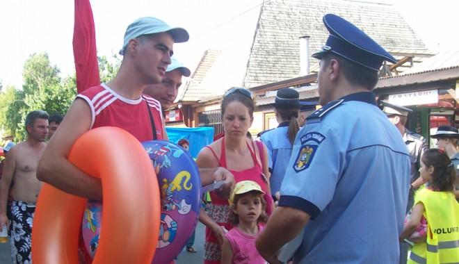 La anul, polițiștii constănțeni se mută pe plajele