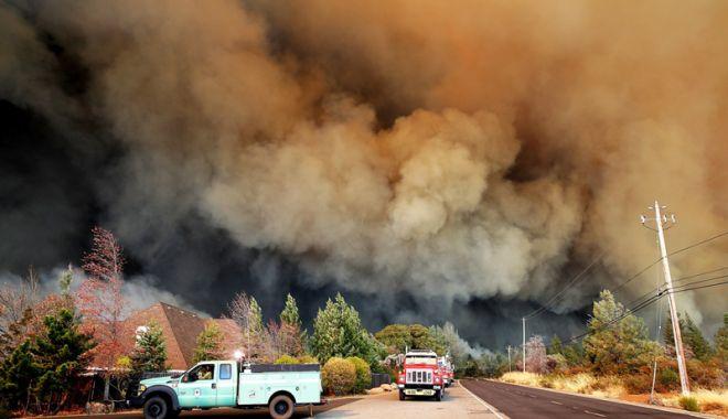 Foto: Care este bilanţul victimelor incendiului  din nordul Californiei
