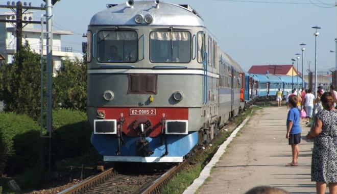 Foto: Ce facilităţi au elevii la călătoria cu trenul