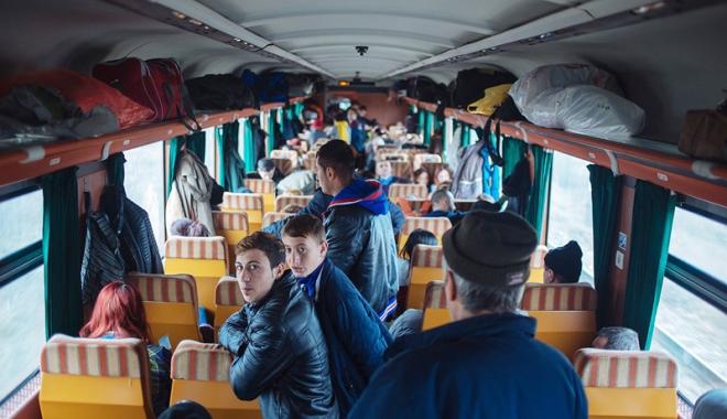 Foto: Studenţii care nu deţin bilete gratuite de călătorie vor fi consideraţi călători frauduloşi