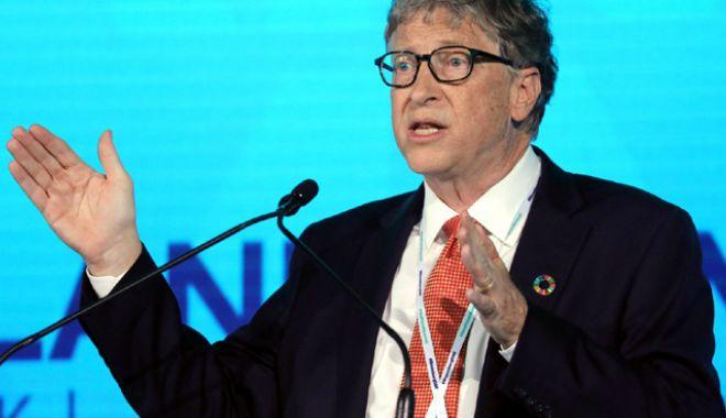 """Foto: Bill Gates: """"Capitalismul poate fi răspunsul la inegalitate"""""""