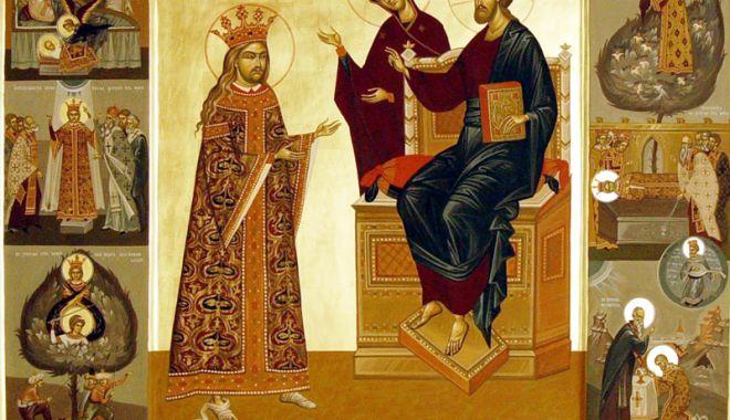 Foto: Biserica  îl comemorează pe sfântul voievod Ştefan cel Mare