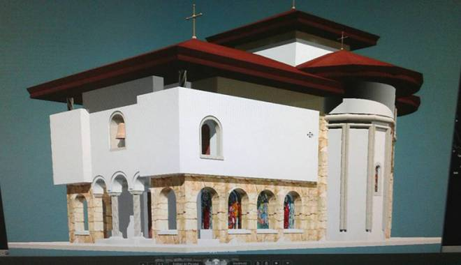 Foto: Exact asta-i mai lipsea! Se ridică o biserică în staţiunea Mamaia