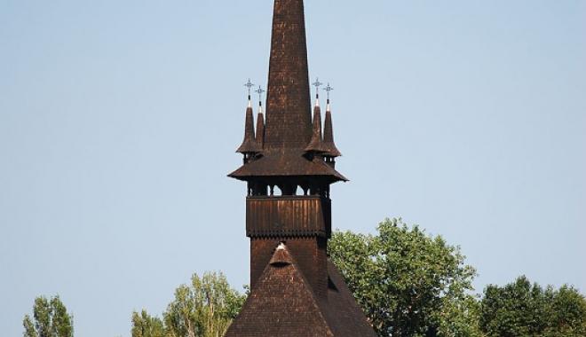 Foto: Biserica Sf. Mina a fost reabilitată. Duminică, va fi resfinţită