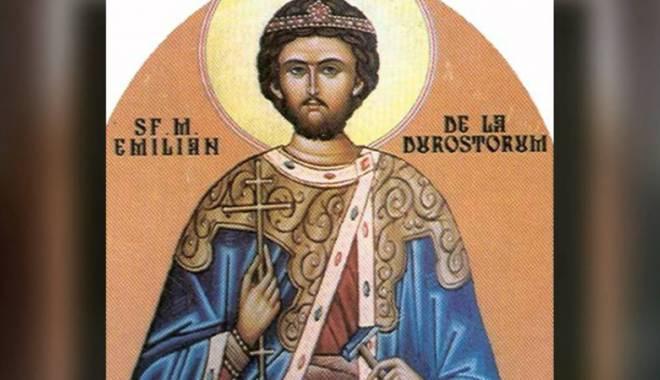 Foto: Biserica Ortodoxă îl sărbătoreşte pe Sf. Emilian