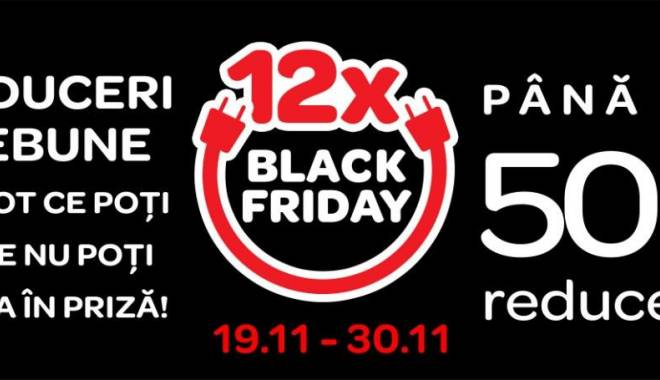 Foto: 12 zile de prețuri nebune la Carrefour, de BLACK FRIDAY!