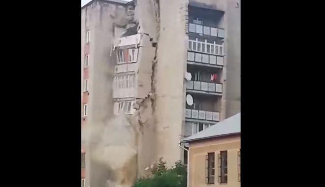 VIDEO / Un bloc de nouă etaje s-a prăbușit în Republica Moldova - bloc-1561023156.jpg