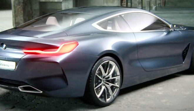 Foto: Prima imagine a noului BMW seria 8