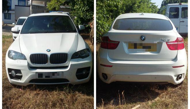 Foto: BMW X6 furat din Marea Britanie, descoperit la frontiera din Ostrov