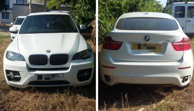Foto: BMW X6 furat din Marea Britanie, descoperit de poliţiştii de frontieră