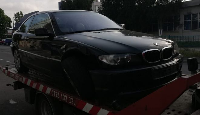 Foto: ACCIDENT LA CONSTANŢA! A lovit un alt autoturism şi a fugit de la faţa locului pentru că era beat